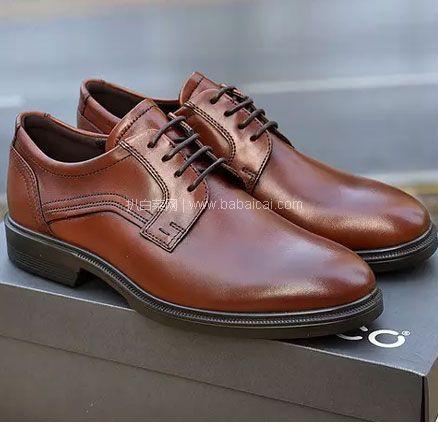 亚马逊海外购:ECCO 爱步 Lisbon里斯 男士牛皮系带牛津鞋,免费直邮含税到手¥488.07