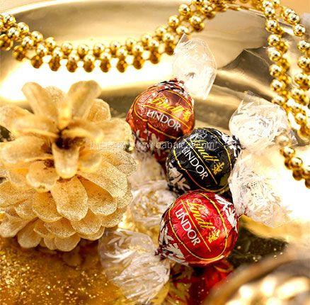 天猫商城:可做儿童节礼物!Lindt 瑞士莲 Lindor系列 混合装巧克力球300g(约23颗) 券后实付新低¥32.8包邮
