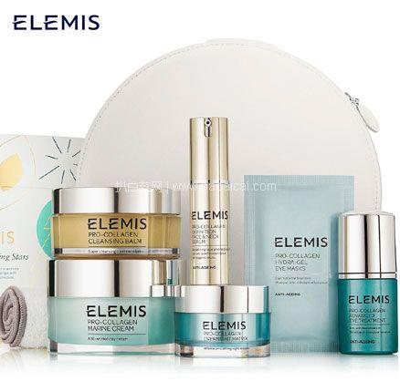 Feelunique中文官网:ELEMIS 艾丽美 骨胶原护肤8件套(价值£407.47) 降至£123.75,免费直邮到手新低1087元