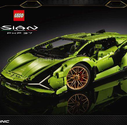 IWOOT:LEGO 乐高 科技系列超旗舰 42115 兰博基尼 Sián FKP 37 (颗粒数3696) 免费直邮到手¥2203元
