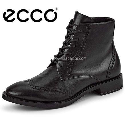 亚马逊海外购:ECCO 爱步 Sartorelle 25 洒脱系列 女士英伦风短靴 降至新低¥594.58,直邮含税到手¥648.69