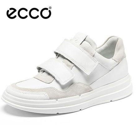 亚马逊海外购:ECCO 爱步 SoftX 柔酷X 女式魔术贴小白鞋休闲鞋,免费直邮含税到手¥460.33