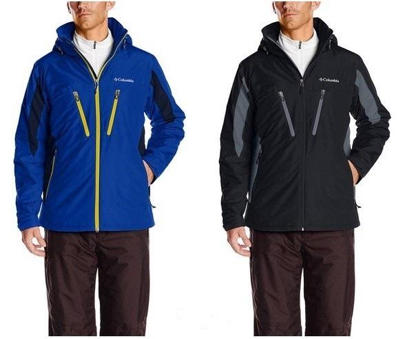 Columbia 哥伦比亚 男士防水/冲锋衣保暖夹克原价$150 秒杀价$69.99 到手¥495