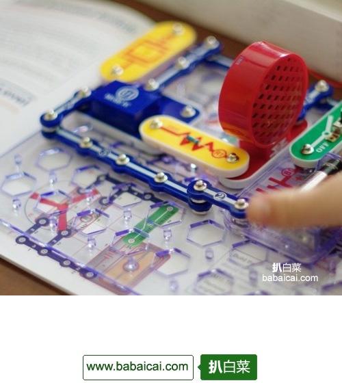亚马逊海外购:ELENCO CM-200 电路积木玩具 降至¥210.69,直邮免运费,含税到手仅¥234